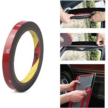 2 unidades de cinta adhesiva de espuma acrílica de doble cara para coche, camión, coche, camión, coche, coche, coche, coche, coche, coche, coche, 3 x 10 mm: Amazon.es: Bricolaje y herramientas