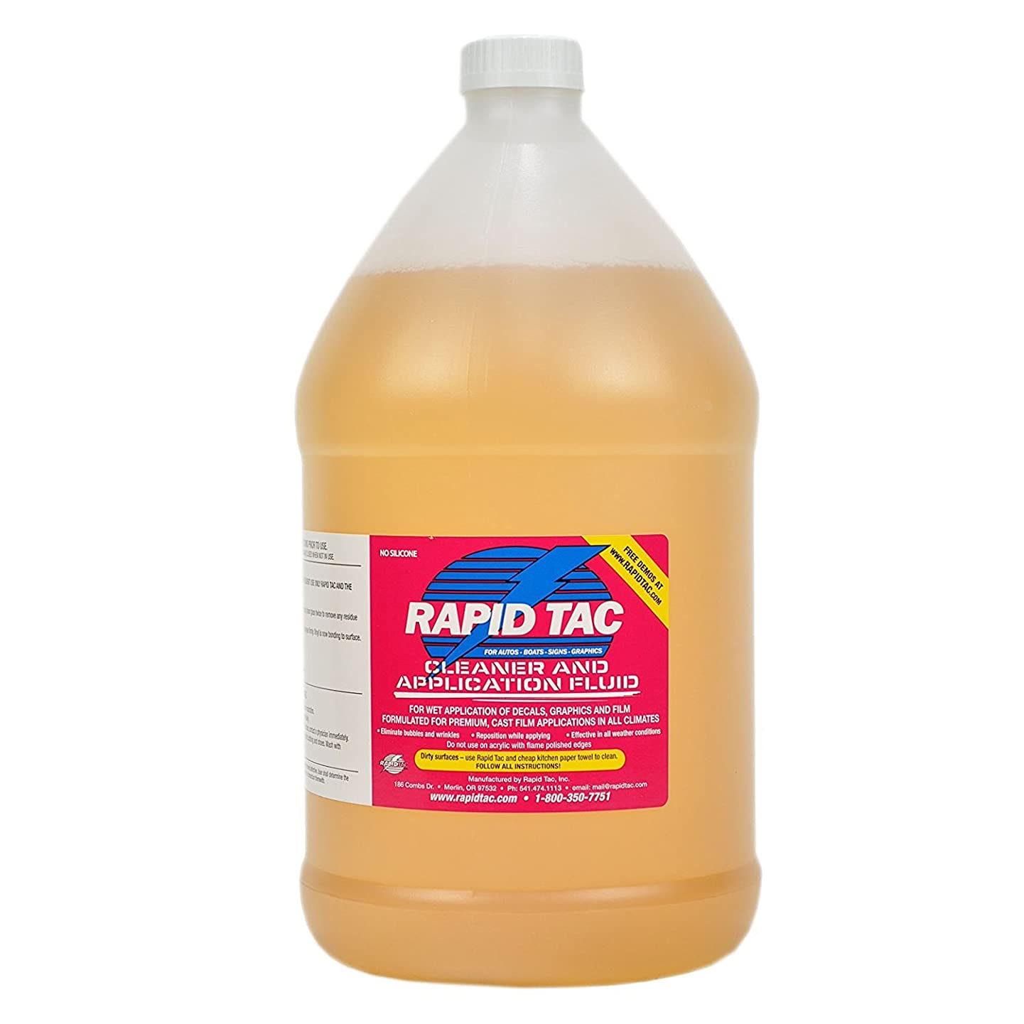 RapidTac RT-11281-5 Application Fluid for Vinyl Wraps Decals Stickers y326052702632088