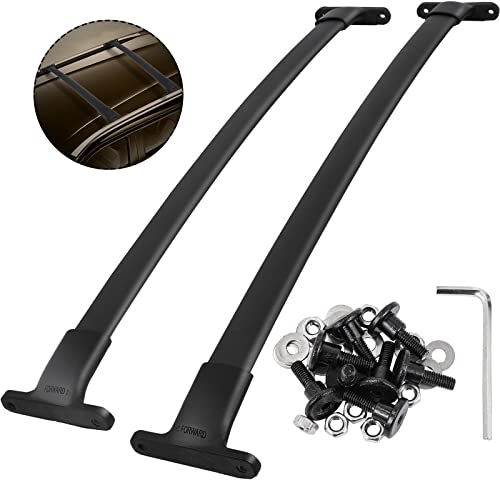 2021 Mophorn Roof Rack Car Roof high quality Rack Crossbars Roof wholesale Rack Cross Bars Top Rail Crossbars Compatible with 2016 2017 2018 Ford Explorer Black online