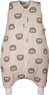 Hosenmax Sovpåse för Baby med Öppningar för Fötterna - Tillverkad av Ekologisk Bomull - TOG 2,5 - Baby Sovsäck för hela år...