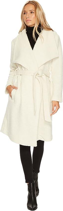 BB Dakota - Isaac Ribbed Woolen Coat