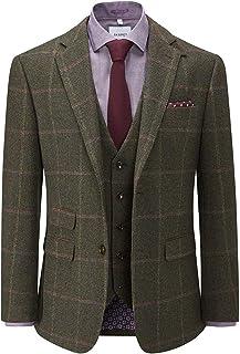Skopes Mens Big Size Tweed Lovat Check Jacket (Morfe)
