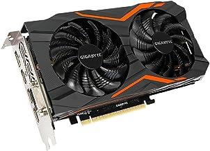Computer Upgrade King Gigabyte GeForce GTX 1050 G1 Gaming 2G Gaming Graphics Card 2GB 128-Bit GDDR5 Windforce 2X Fans Vide...