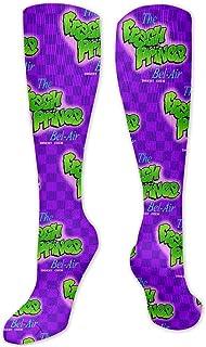 The Fresh Prince Of Bel-Air Soccer Socks, Mens Novelty Knee High Baseball Socks