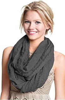 CJ Apparel Mobius Infinity Scarf Snood Cowl Tube Round Circle Eternity Shawl Seconds NEW