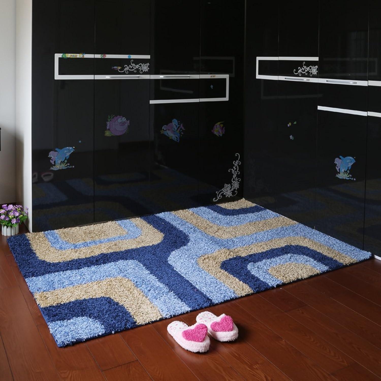 Doormats Toilet door mat Bathroom water-absorbing mat Door mats-C 140x200cm(55x79inch)