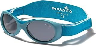 Mausito® Lunettes de soleil bébé garçon & fille 0-18 mois I FLEXIBLES lunette de soleil bebe avec pont nasal souple I 100%...