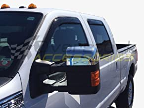 WeatherTech Custom Fit Front & Rear Side Window Deflectors for Nissan Frontier Crew Cab, Dark Smoke