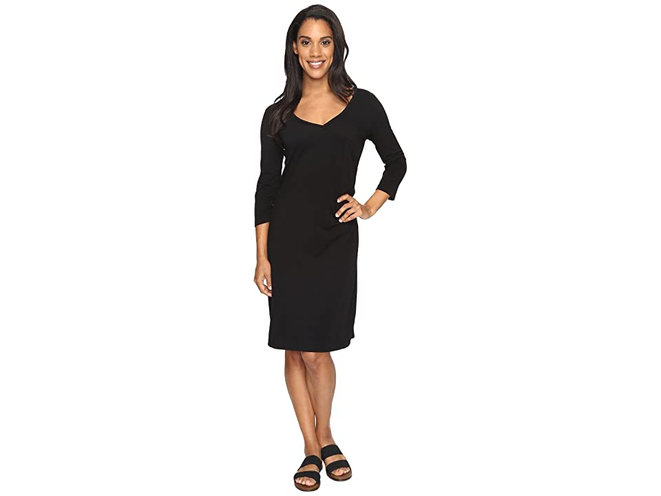 Royal Robbins Essential Tencel(r) Monroe Dress (Jet Black) Women