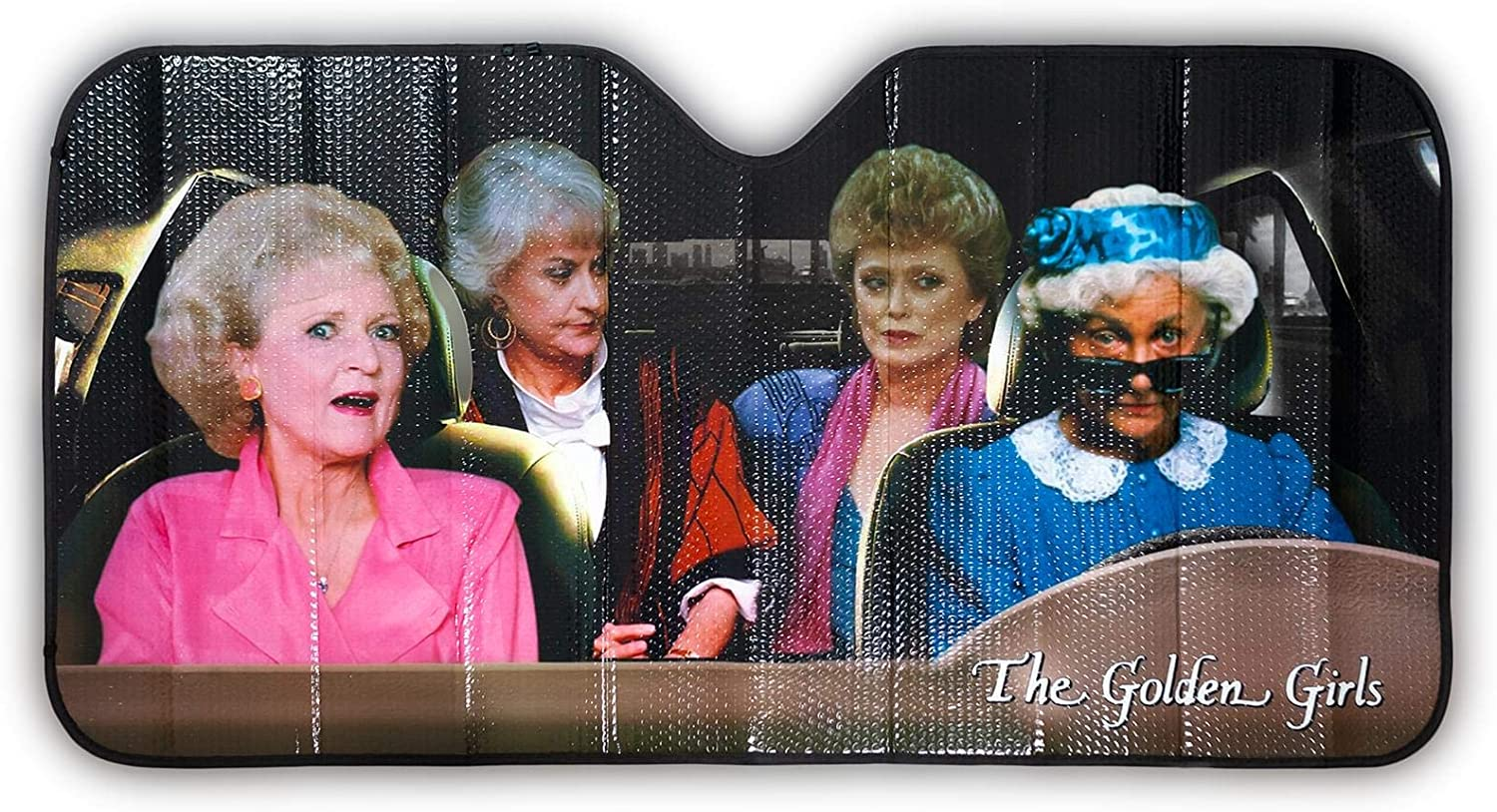 The Golden Girls Car Sunshade with Sophia Ros Max 78% San Jose Mall OFF - Driving Includes