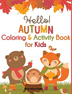 Hello Autumn Coloring & Activity Book for Kids