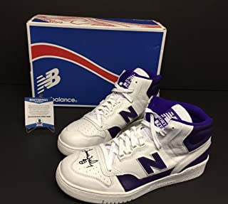 612bd149429 James Worthy Signed New Balance Shoes Sneakers P740LA Beckett BAS - Beckett  Authentication - Autographed NBA