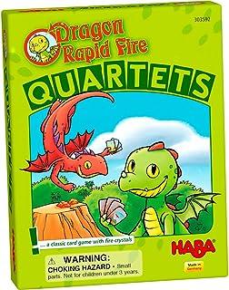 HABA Dragon Rapid Fire – Quartets | Card Game, Multicolor