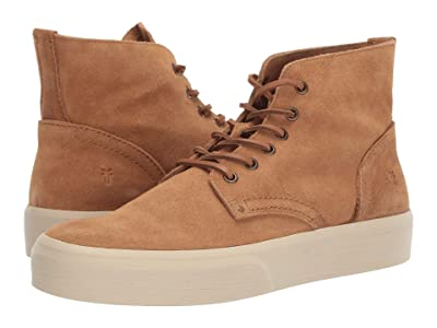 Frye Beacon Lace-Up (Brown Oiled Suede) Men