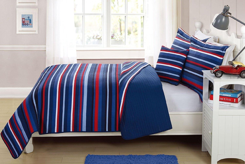 Elegant Home Decor Multicolor Light Free shipping New Blue Dark White Stripe Red 2021