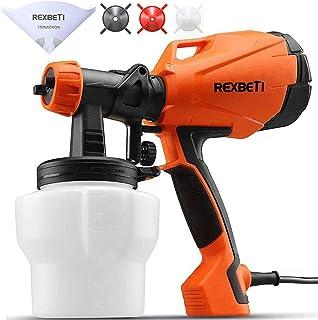 REXBETI Ultimate-750 Paint Sprayer, High Power HVLP Home Electric Spray Gun, Lightweight,..