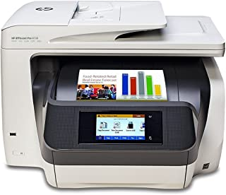 HP Officejet Pro 8730 D9L20A Wireless All-In-One Color Printer with Duplex Printing