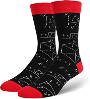 241edd03e14a Novelty Funny Art Crew Socks for Men Colorful Cute Animal Crazy Food Cotton Dress  Socks
