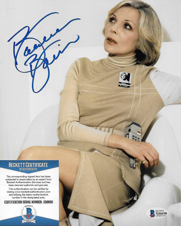 Barbara Bain sale Space 1999 Original 8X10 Beckett #2 COA w photo free