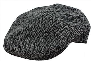 Irish Tweed Cap Made in Ireland Flat Cap Vintage Design Fuller Fit 100% Wool