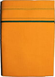 9bea3cd3 Prakasam Cotton Mens Single Colour Dhoti/Single mundu/1.30X2.00 Meter Single