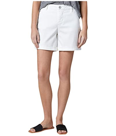 Jag Jeans Sandra 6 Twill Shorts (White) Women