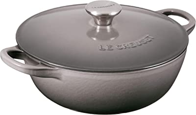 Le Creuset Enameled Cast Iron Chef's Oven, 1.5 qt., Oyster