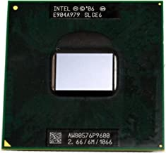 Intel Core 2 Duo P9600 SLGE6 2.66GHz 6MB Dual-core Mobile CPU Processor Socket P 478-pin