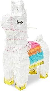 Sparkle and Bash Boho Fiesta Llama Party Pinata, 8.5 x 4.5 x 15 Inches
