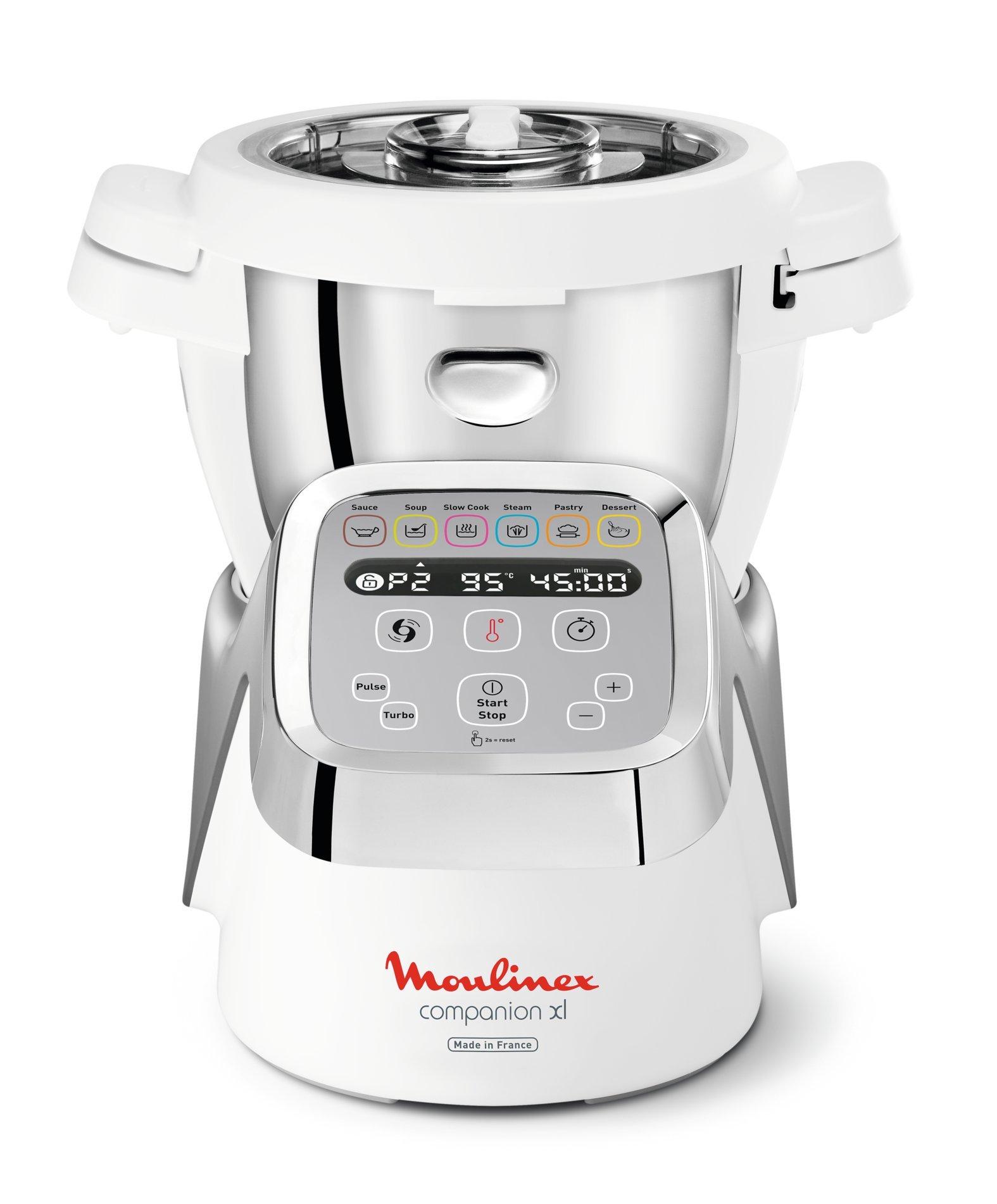 Moulinex - Robot de cocina multifunción Companion XL 32 x31 x35 cm gris: Amazon.es: Hogar