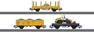 Construction Site Starter Set Extension Set - 3-Rail w/Digital - Start up -- 3 Cars & Siding Track Addition for #441-29184