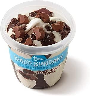 Blue Bunny Frozen Load'd Sundaes Ice Cream Cup, Cookie Crunch N' Fudge, 8.5 Ounces