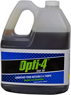 Opti-4 43444 1 Gallon SAE 30W 4-Cycle Engine Lubricant for Engines up to 31 HP