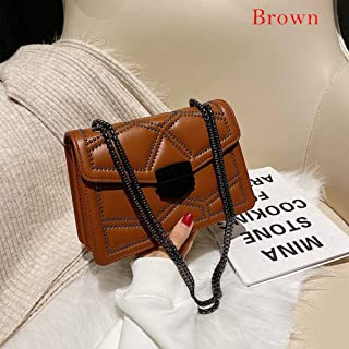 Contrast color Leather Crossbody Bags For Ladies Travel Handbag Simple Messenge Shoulderr Bag Women Crossbody Bag Tote