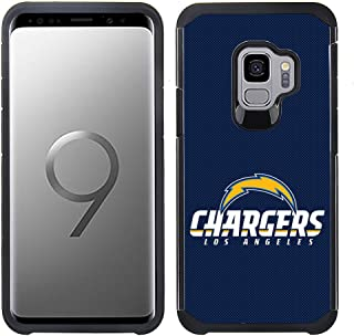 Prime Brands Group Textured Team Color Cell Phone Case for Samsung Galaxy S9 - NFL Licensed Los Angeles Chargers