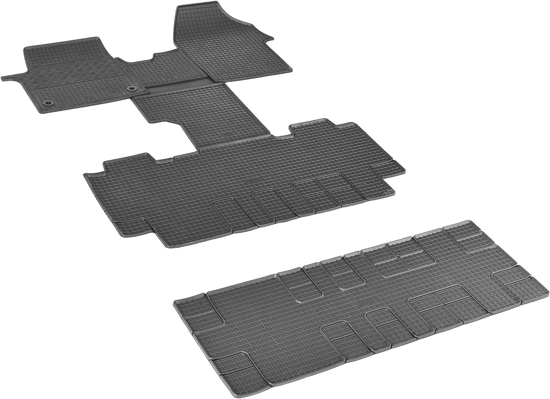 Gummimatten Fußmatten Gummifußmatten Rigum Geeignet Für Peugeot Traveller 8 Sitzer Ab 2016 L2 Perfekt Angepasst Extra Auto Duft Auto