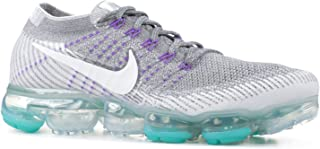 Women's Air Vapormax Flyknit Running Sneakers,Cool Grey/White-Pure Platinum US 9.5