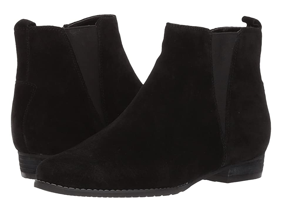 Blondo Loxx Waterproof (Black Suede) Women