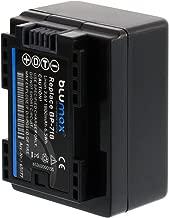 Blumax   BP-718 Replacement 1800mAh 3 6V Battery Power Pack for Canon Legria Series M506 M52 M56 R306 R36 R37 R38 R406 R46 R47 R48 R506 R56 R57 R606 R66 R67 R68 VIXIA Series M50 M500 M52