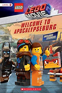 Welcome to Apocalypseburg [With Stickers] (Lego Movie 2: Scholastic Readers, Level 2)