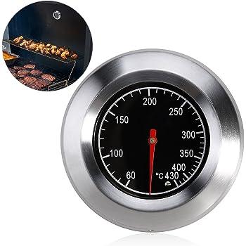 BBQ Räucher Thermometer 0~300℃ für Räucherofen Smoker Grill Räucherthermometer