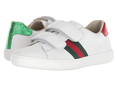 6e84b88aa3c Gucci Kids New Ace V.L. Sneakers (Little Kid Big Kid) at Luxury ...