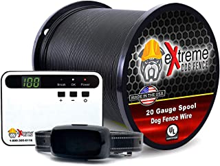 Electric Dog Fence Basics Underground Dog Fence Rechargeable Collar Containment System for Simple Setup and Most Complete DIY Wired Electronic Dog Fence