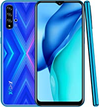 Xgody X30 Mobile Phones,Android 9.0 Unlocked Cell Phone, Dual Sim-Free Smartphone with 6.53 inch HD(20:9) Waterdrop Screen,5MP + 16GB ROM(Blue X30)