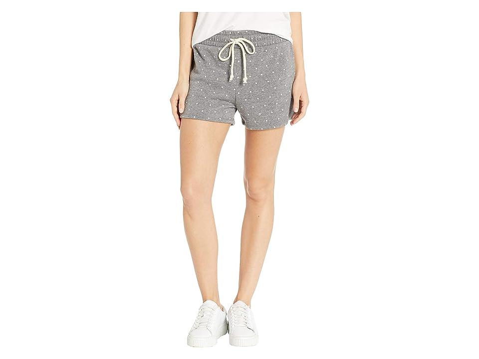 Alternative Cozy Fleece Shorts (Eco Grey Pin Dot) Women