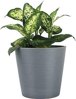 LA JOLIE MUSE Planter Outdoor Indoor Flower Pot- Plant Pots for Indoor and Outdoor Plants, Minimalist Tapered Shape Plante...