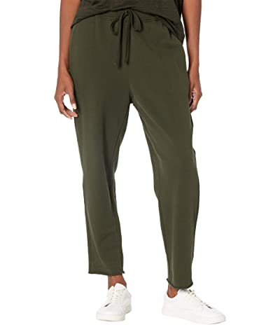 Eileen Fisher Organic Cotton French Terry Ankle Track Pants