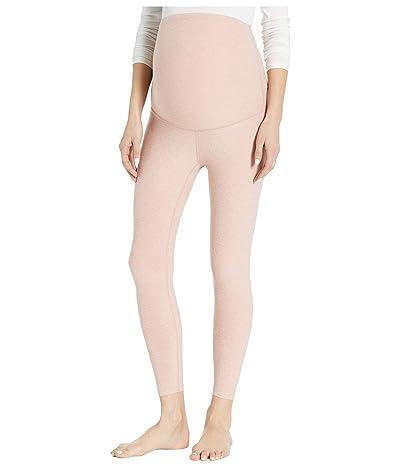 Beyond Yoga Maternity Empire Waisted Capri Leggings (Tinted Rose/Pink Quartz) Women
