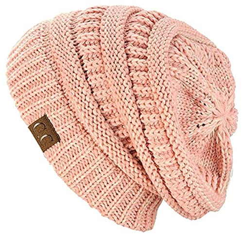 0cbbcfd160e C.C Trendy Warm Chunky Soft Stretch Cable Knit Beanie Skully