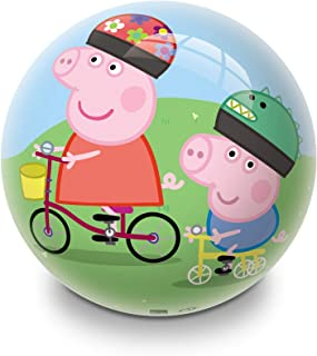 Mondo PVC Balls 23cm Peppa Pig on a Bike 06971